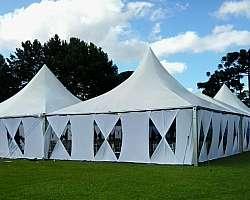 Tendas gigantes personalizado em eventos